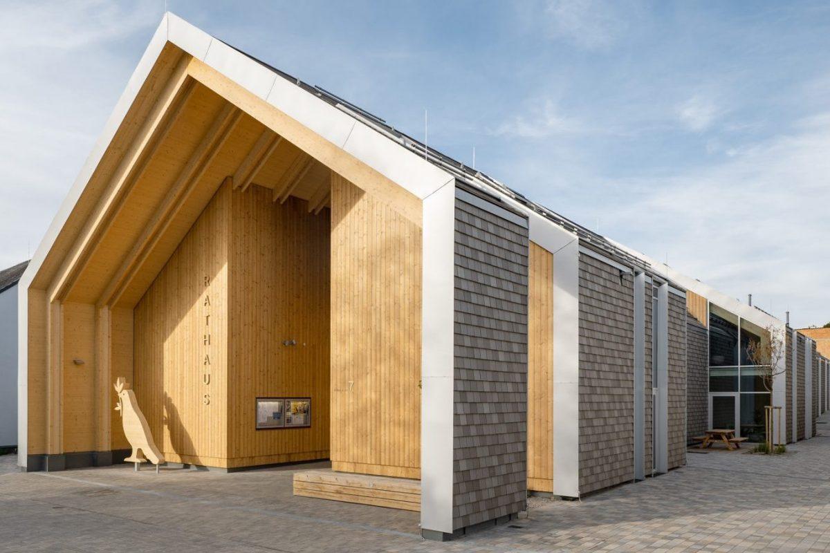 Gemeindezentrum Großweikersdorf (Österreich), Architekt: smartvoll Architekten ZT KG, Fotograf: Andreas Hafenscher