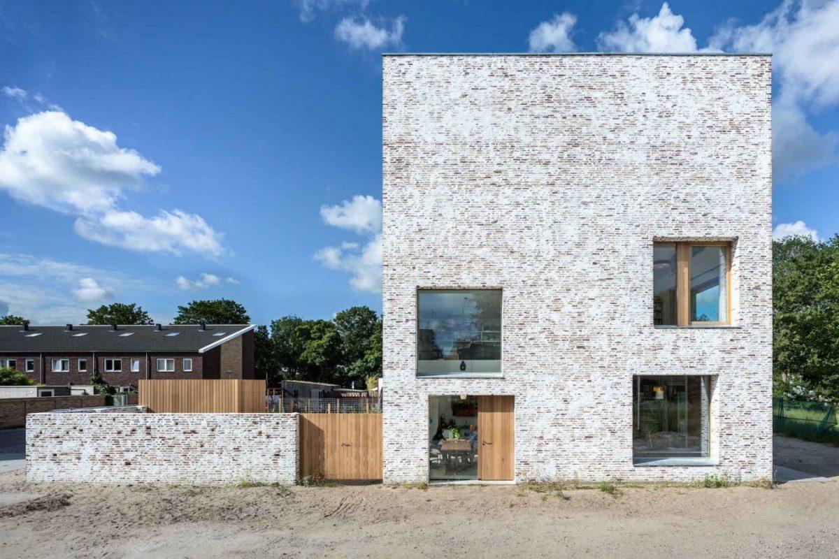 Brick Award 22 Nominee House Koopvaardersplantsoen, Amsterdam (Niederlande), Architekt: bureau SLA – we are architects, Fotograf: Thijs Wolzak