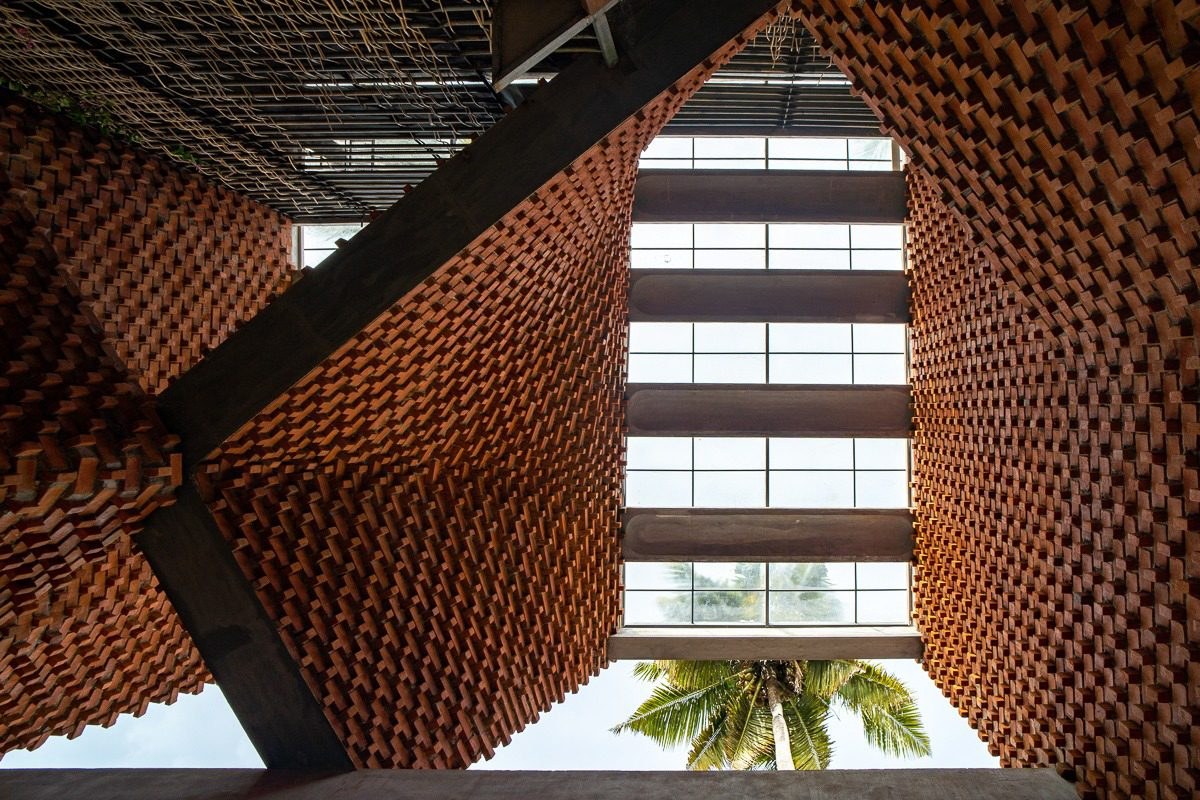 Brick Award 22 Nominee Pirouette House, Maruthamkuzhi (Indien), Architekt: Wallmakers architects, Fotograf: Jino & Midhu